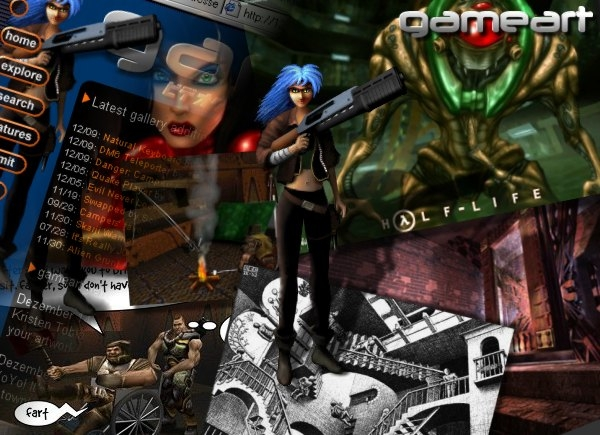 PlanetQuake.com picture of the day, January 1st, 1999
